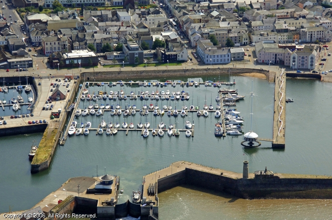 Whitehaven United Kingdom  city photos gallery : Whitehaven Harbour in Cumbria, England, United Kingdom