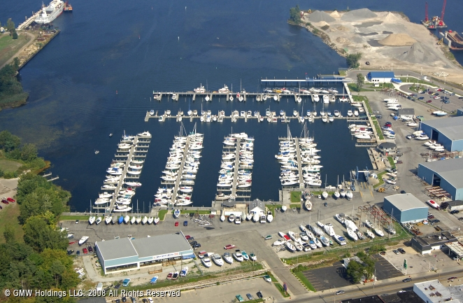Muskegon (MI) United States  city photos : Great Lakes Marina in Muskegon, Michigan, United States