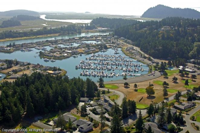 Shelter Bay Marina In La Conner Washington United States