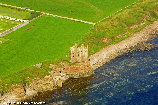 Keiss United Kingdom  city images : Keiss Castle in Keiss, Scotland, United Kingdom