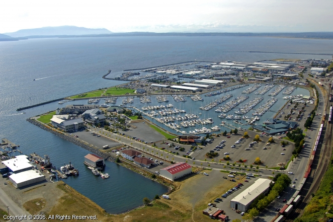 Bellingham (WA) United States  City pictures : Port of Bellingham in Bellingham, Washington, United States
