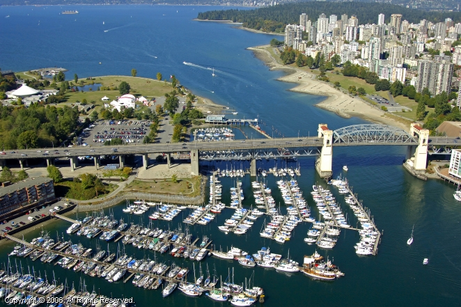 Burrard Bridge Civic Marina