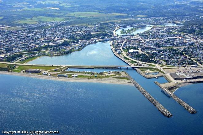 Matane (QC) Canada  city photo : Marina De Matane in Matane, Quebec, Canada
