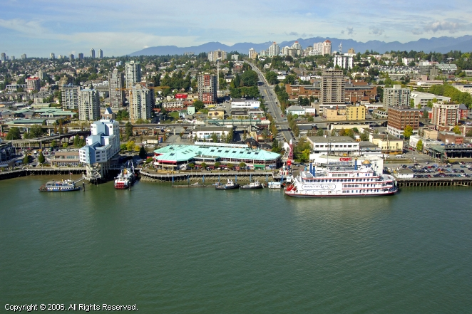 New Westminster (BC) Canada  City new picture : New Westminster City Dock in New Westminster, British Columbia, Canada