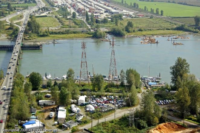 Coquitlam Weather: Pitt River Marina In Port Coquitlam, British Columbia, Canada
