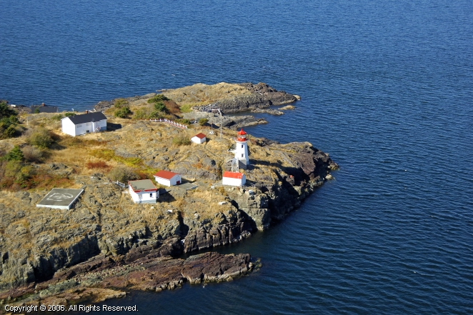 Parksville (BC) Canada  City new picture : Ballenas Islands Lighthouse, Parksville, British Columbia, Canada