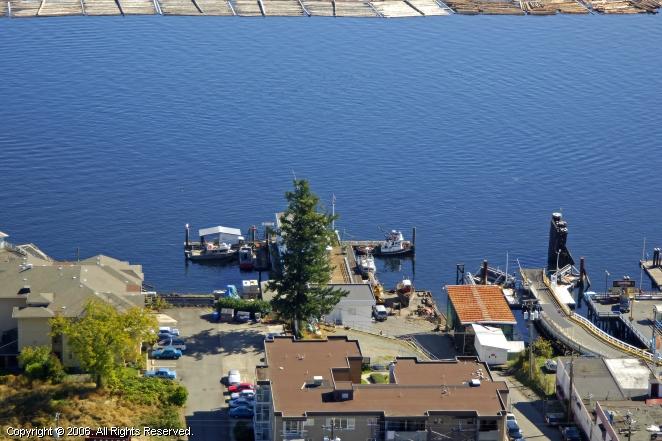 Chemainus (BC) Canada  city pictures gallery : Chemainus Fuel Dock in Chemainus, British Columbia, Canada