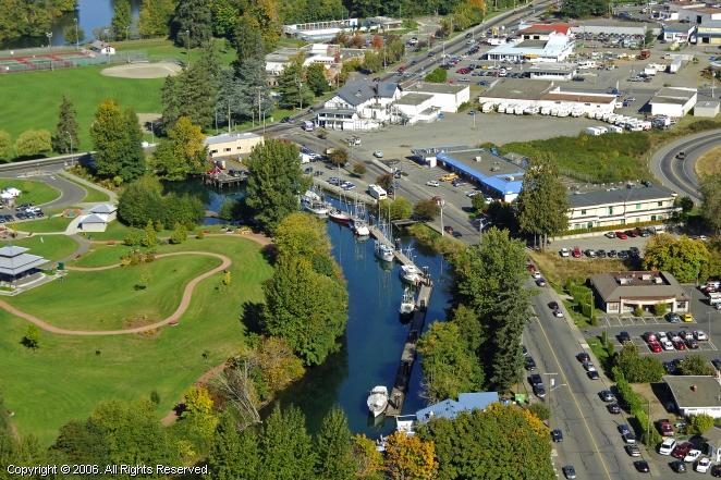 Courtenay (BC) Canada  city photos gallery : Courtenay Slough Marina in Comox, British Columbia, Canada