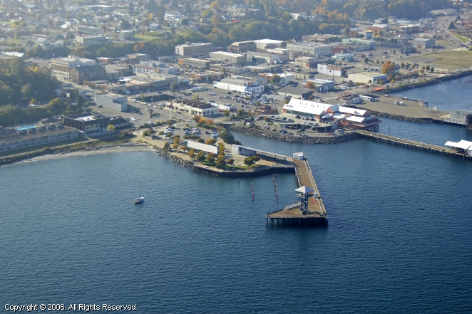 Port Angeles (WA) United States  city pictures gallery : Port Angeles City Pier in Port Angeles, Washington, United States