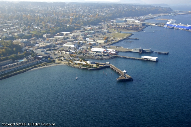 Port Angeles (WA) United States  City pictures : Port Angeles City Pier in Port Angeles, Washington, United States