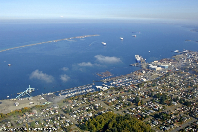 Port Angeles (WA) United States  city photo : Port Angeles Harbor, Port Angeles, Washington, United States