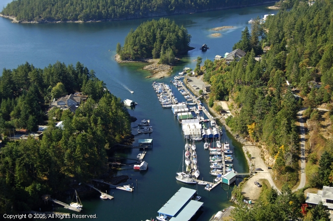 Secret Cove Public Wharf