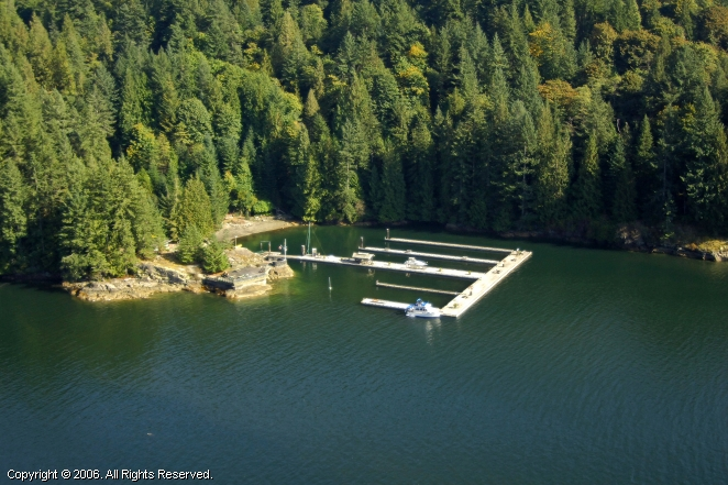 West Vancouver Yacht Club Gambier Island Outstation