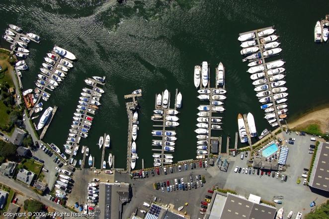 Ocean Street Bulkhead Dock In Hyannis Massachusetts United States
