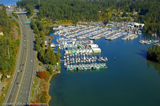 North Saanich (BC) Canada  city pictures gallery : Cedar Grove Marina in North Saanich, British Columbia, Canada