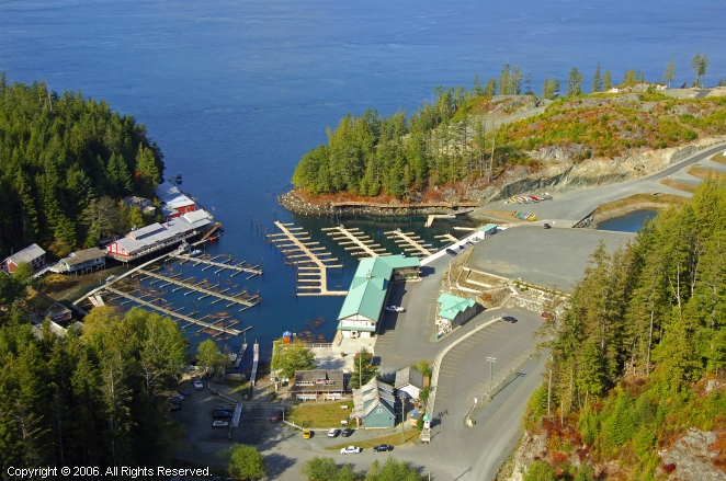 Telegraph Cove Marina Amp Rv Park In Telegraph Cove British