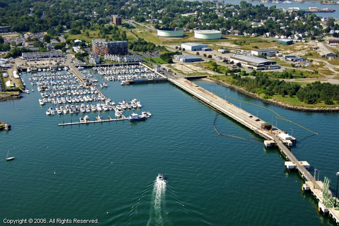 Breakwater Marina in South Portland, Maine, United States