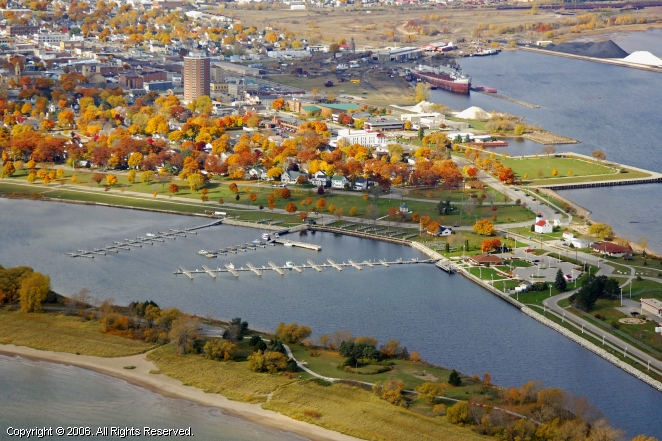 Escanaba (MI) United States  City new picture : Escanaba Municipal Marina in Escanaba, Michigan, United States