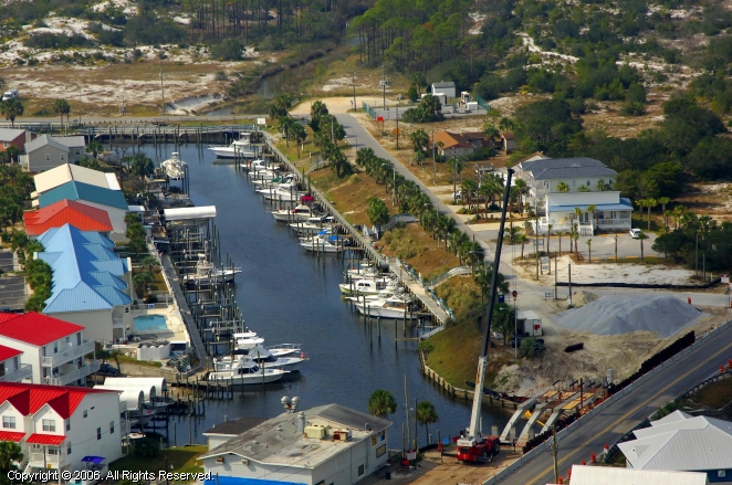 Mexico Beach Marina In Mexico Beach Florida United States