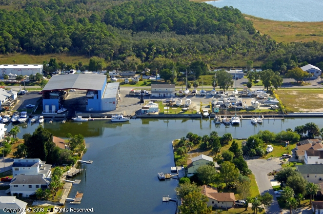 Hernando (FL) United States  city photo : Hernando Beach Marina in Hernando Beach, Florida, United States