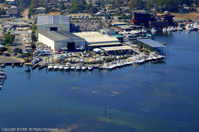 Panama City (FL) United States  city photos gallery : Treasure Island Marina in Panama City Beach, Florida, United States