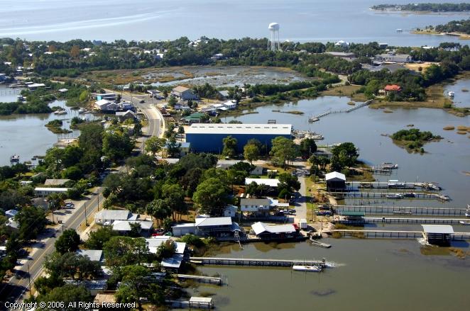Cedar key marina in florida united states