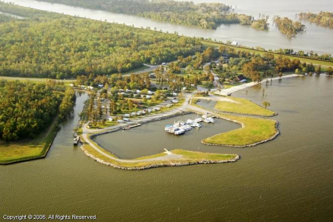 Lake End Park Marina In Morgan City Louisiana United States