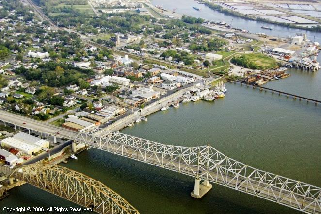 Morgan City Pleasure Boat Dock In Morgan City Louisiana