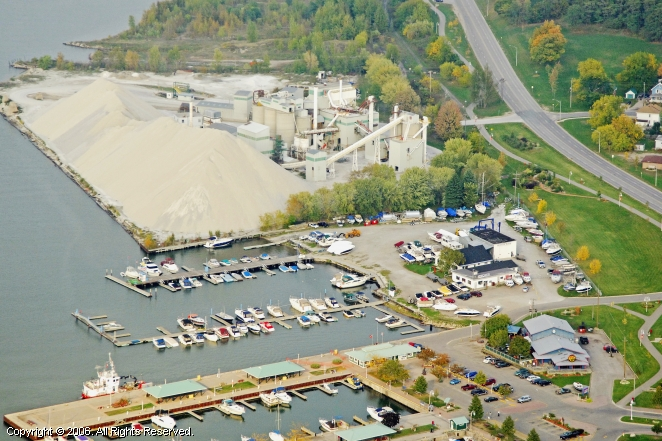 Midland (ON) Canada  City new picture : Midland Marina in Midland, Ontario, Canada
