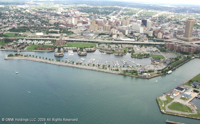 erie basin marina in buffalo  new york  united states