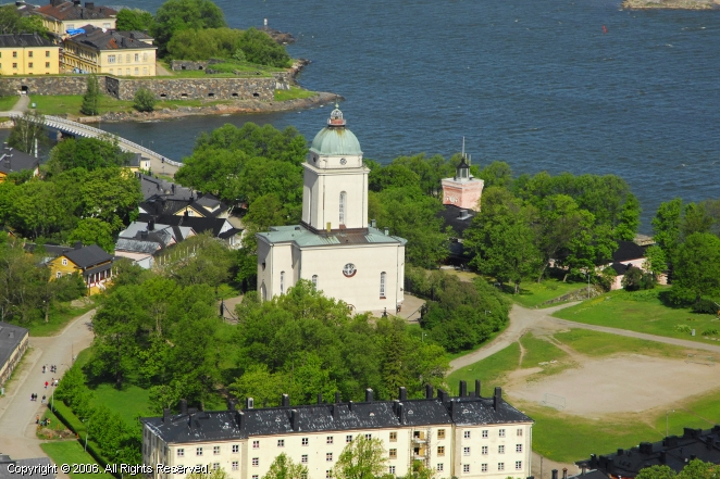 Suomenlinna Church Lighthouse
