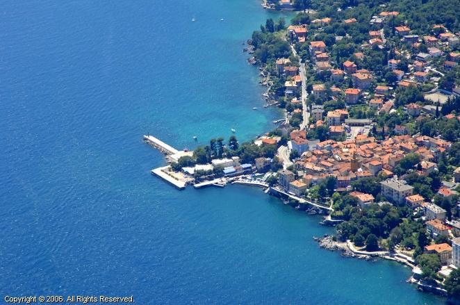 Lovran Croatia  city pictures gallery : Lovran Harbour, Croatia