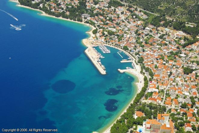 Baska Voda Croatia  city images : Baska Voda Harbour, Croatia