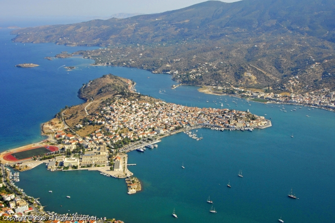 Poros Greece  city pictures gallery : Poros Harbour, Greece