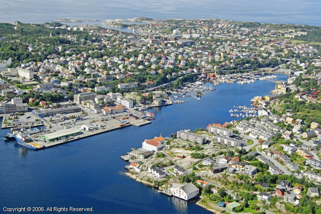 Kristiansund Harbour, Kristiansund, Norway
