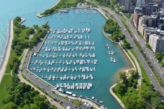 Belmont Harbor, the Chicago Harbors