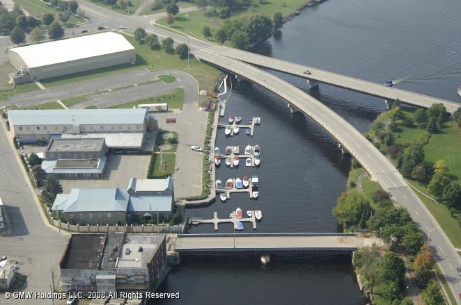 Ogdensburg (NY) United States  city photo : River Front Marina in Ogdensburg, New York, United States