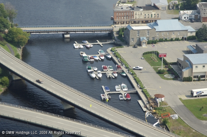 Ogdensburg (NY) United States  City new picture : River Front Marina in Ogdensburg, New York, United States