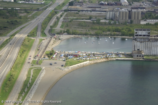 south end marina in buffalo  new york  united states