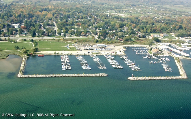 Owen Sound (ON) Canada  city pictures gallery : Owen Sound Marina in Owen Sound, Ontario, Canada