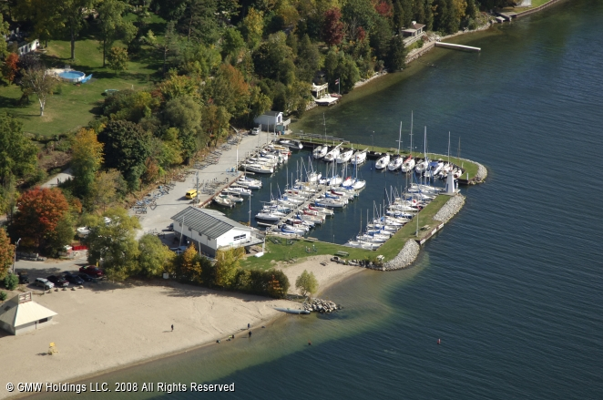 Barrie (ON) Canada  city photo : Barrie Yacht Club in Barrie, Ontario, Canada