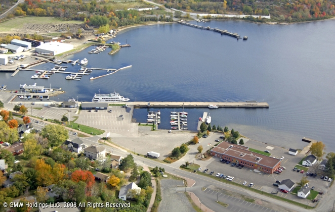 Parry Sound (ON) Canada  city photos gallery : Parry Sound Town Dock in Parry Sound, Ontario, Canada
