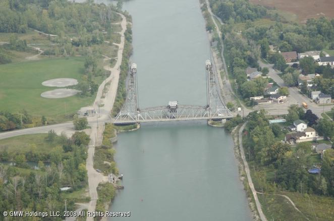 Welland (ON) Canada  city photo : Welland Canal Bridge 11, Allanburg, Ontario, Canada