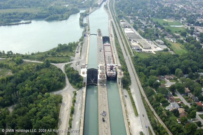 Welland (ON) Canada  City pictures : Welland Canal Lock 6, Thorold, Ontario, Canada