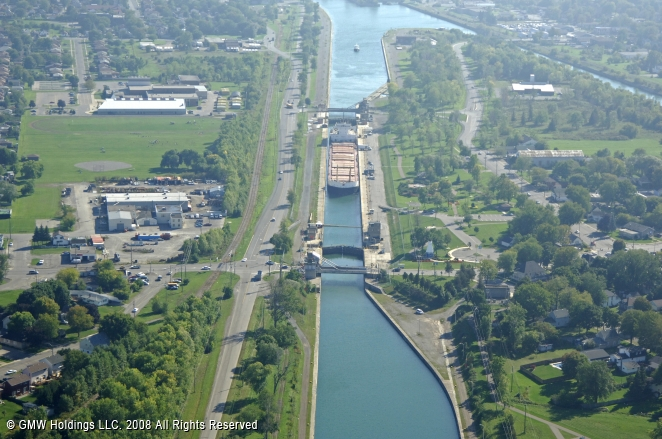 Welland (ON) Canada  city pictures gallery : Welland Canal Lock 8, Port Colborne, Ontario, Canada