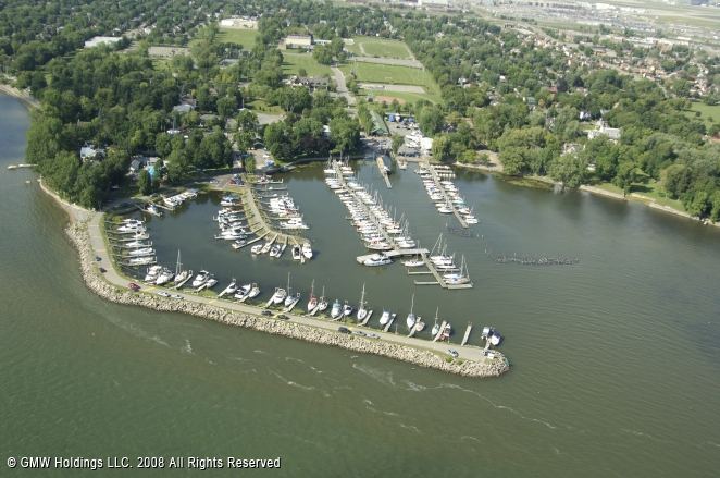 Royal St Lawrence Yacht Club In Dorval Quebec Canada