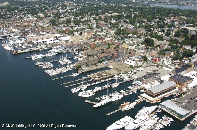 newport ri newport bridge boats in harbor photo picture