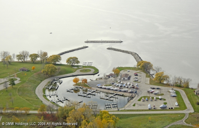 High Cliff State Park Marina In Sherwood Wisconsin
