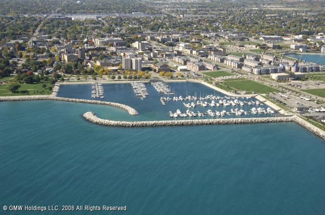 Kenosha (WI) United States  City new picture : Southport Marina in Kenosha, Wisconsin, United States