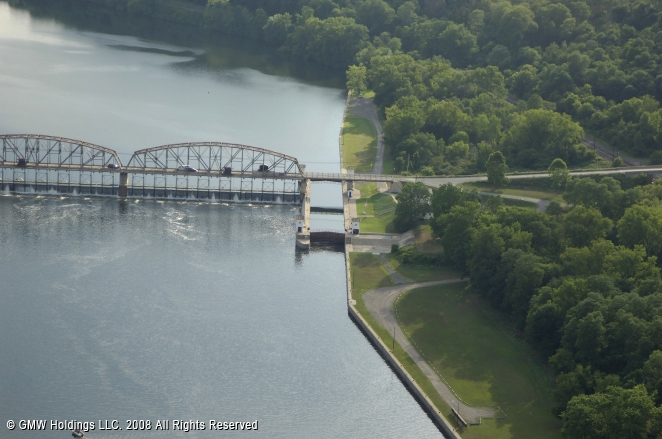 Canals In The United States : Erie canal lock tribes hill new york united states